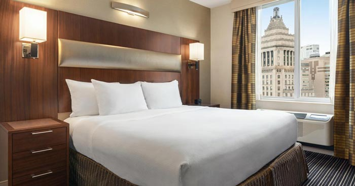 Zimmer DoubleTree by Hilton New York