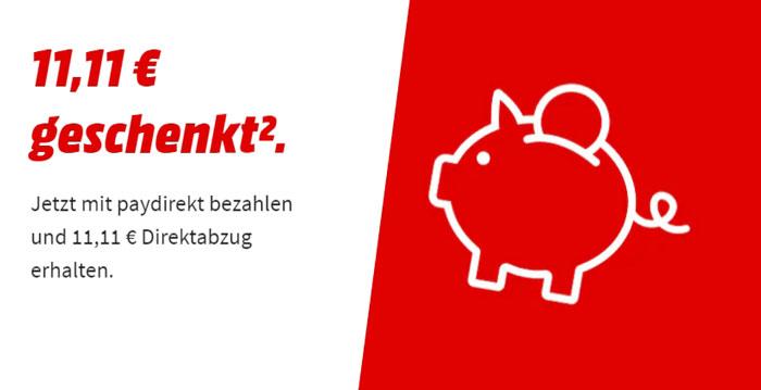 Media Markt Paydirekt Aktion