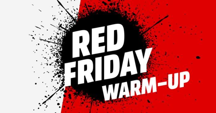 Media Markt Red Friday Warm Up