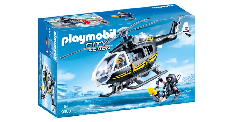 Playmobil City Action SEK Helikopter