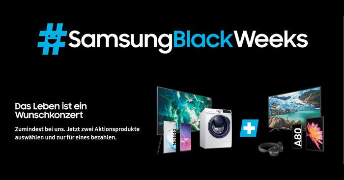 Samsung Black Week
