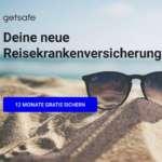 12 Monate getsafe Reisekrankenversicherung kostenlos – Kündigung erforderlich