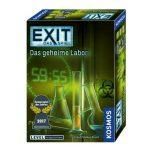 Kosmos Exit Game Brettspiele (z.B. Das geheime Labor) für 7,99€