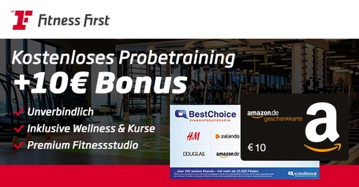 Fitness First Bonus-Deal