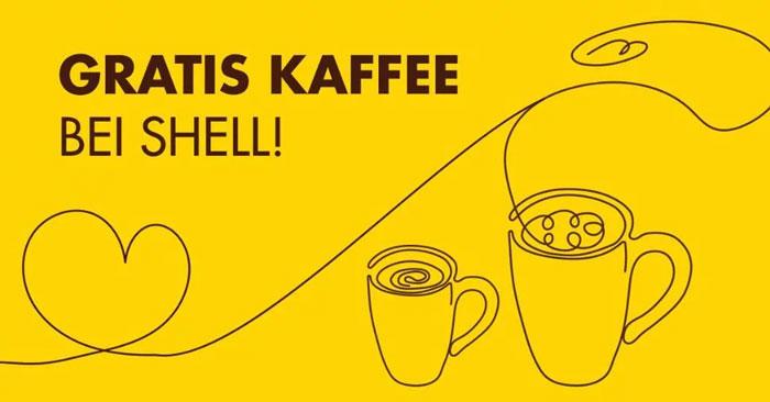 Gratis-Kaffee Shell