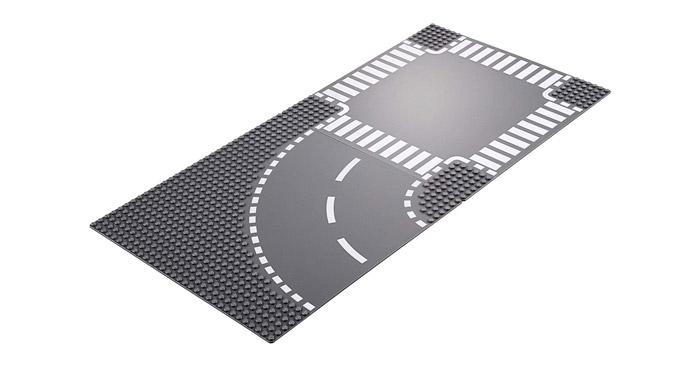 Lego City Straßenplatten