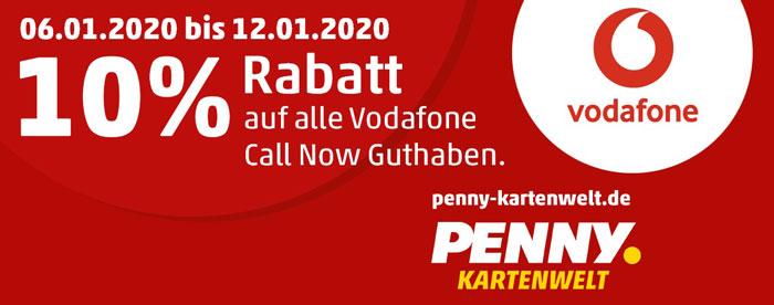 Vodafone CallNow Guthaben Rabatt