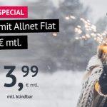 Handyvertrag.de Groupon-Special: LTE All 1 GB Tarif mit Allnet-Flat für 3,99€/Monat