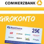Commerzbank Girokonto Startguthaben Amazon Gutschein