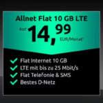 Crash Allnet Flat 10 GB Tarif