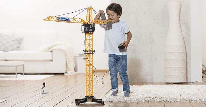 Dickie Toys Spielzeug Kran