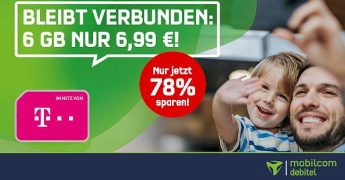 Telekom Green LTE 6 GB Tarif