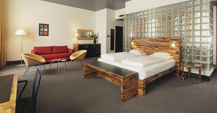 Zimmer Mövenpick Hotel Berlin