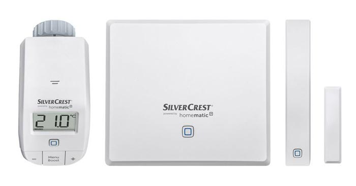 Silvercrest Heizen Smart Home Starterkit