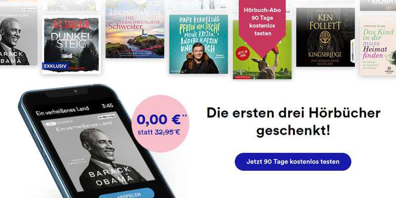 Thalia Hörbuch Abo gratis testen