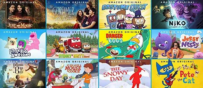 Amazon Kinderfilme & Kinderserien