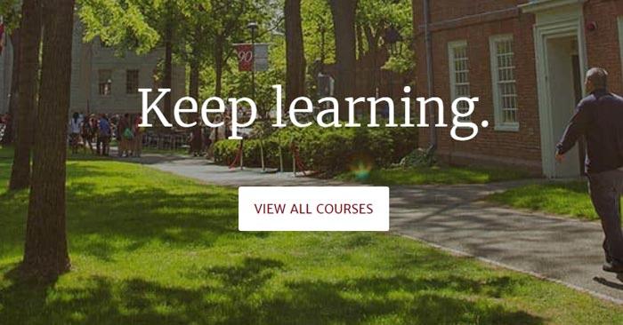 Kostenlose Harvard University Kurse
