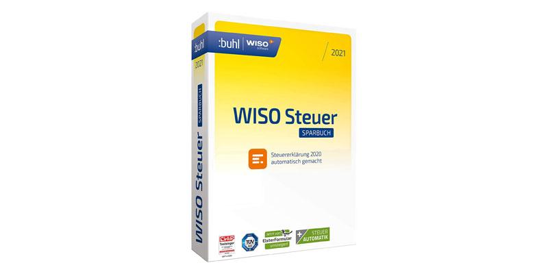 Buhl WISO Steuer Sparbuch 2021 für 19,99€ - Einfache ...
