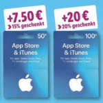 iTunes Guthabenkarten LIDL