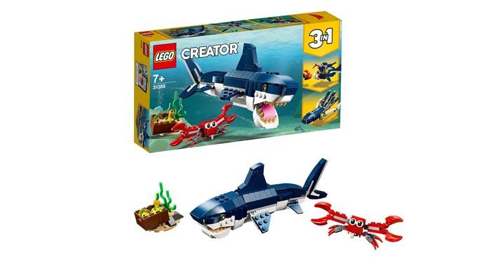 Lego Creator Bewohner der Tiefsee