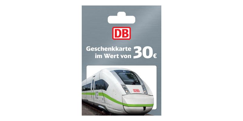 Deutsche Bahn Geschenkgutschein