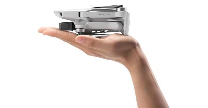 Größe DJI Mavic Mini Drohne