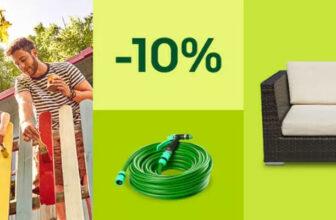 eBay Rabatt Aktion: Gutschein auf Garten & Terrasse