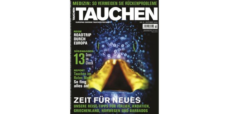 Jahresabo Zeitschrift Tauchen