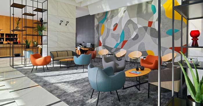 Lobby Four Points by Sheraton Warschau