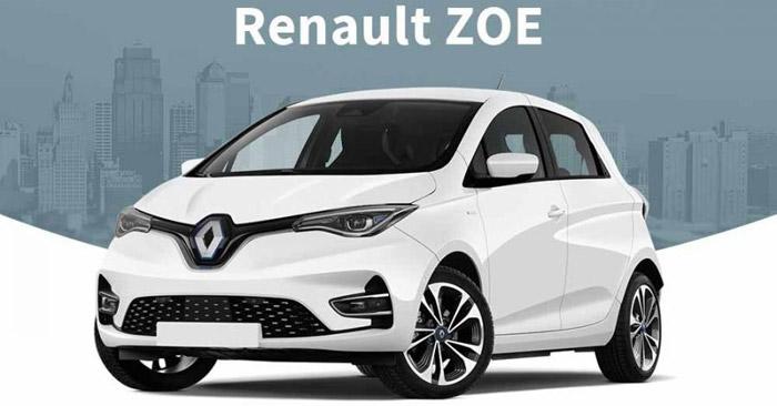 Renault Zoe Leasing-Angebot