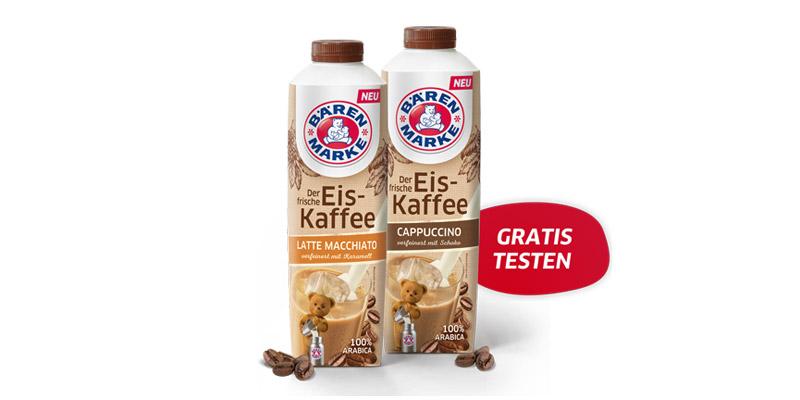 Bärenmarke Eiskaffee Cashback Aktion