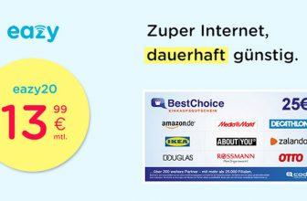 Eazy DSL-Tarif deutschlandweit