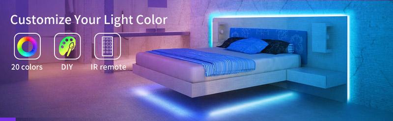 Govee Lichtband Schlafzimmer