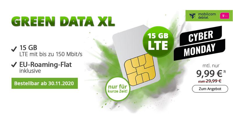 mobilcom-debitel green Data XL