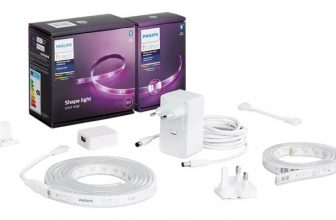 Philips Hue LightStrip+ Basis-Set (2m LED Lichtband) + 1m Erweiterung