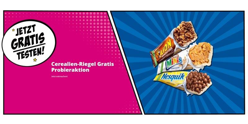 Nestlé Cerealien-Riegel Cashback Aktion