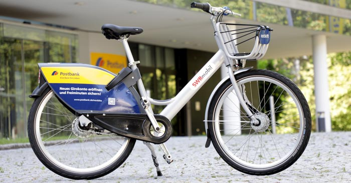 Postbank Nextbike Aktion