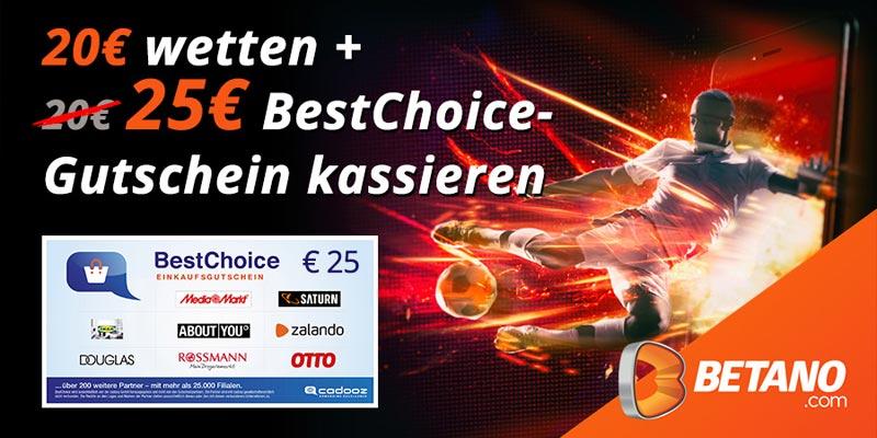 Betano Sportwetten Bonus-Deal