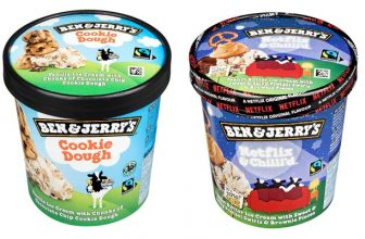 Ben & Jerry's Eis