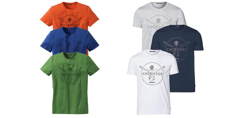 Chiemsee 3er Pack Herren T-Shirts