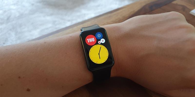 Huawei Watch Display