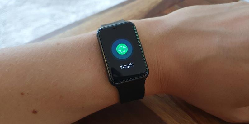 Huawei Watch Handy rufen