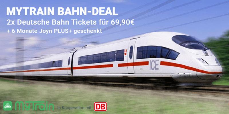myTrain DB Bahn Ticket