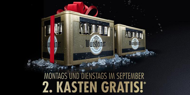 Warsteiner Bier Cashback Aktion