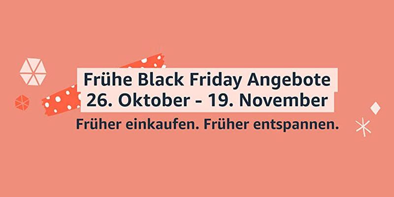 Amazon Frühe Black Friday Angebote