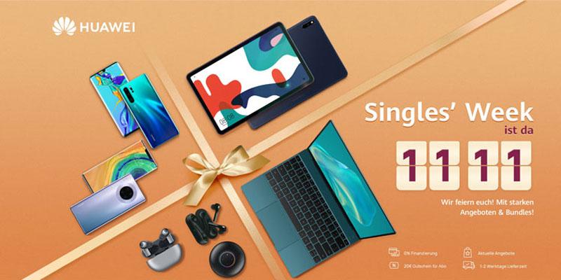 Huawei Singles Week
