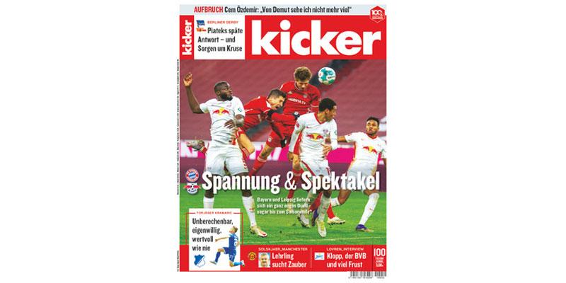 Kicker Jahresabo + Verrechnungsscheck