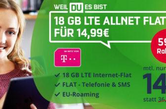Telekom Green LTE 18 GB Tarif