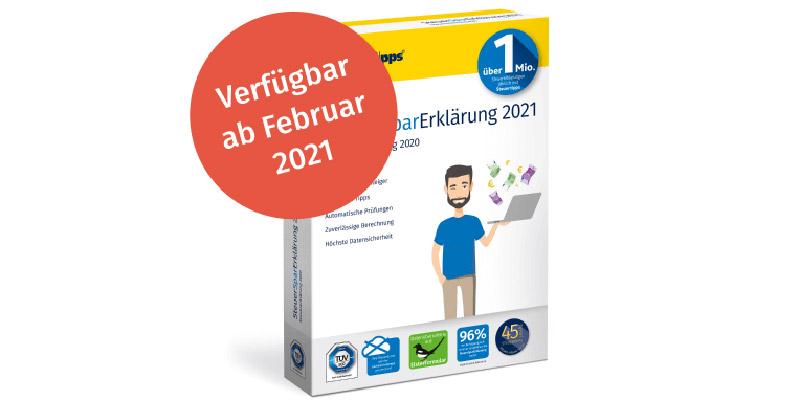 SteuerSparErklärung 2021