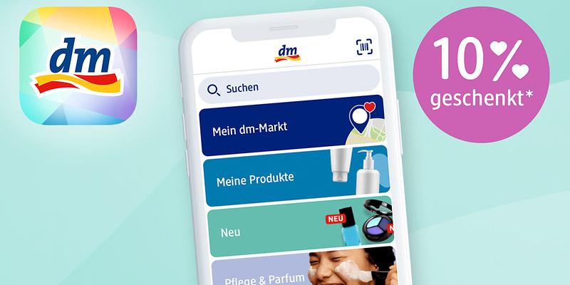 dm App Gutschein